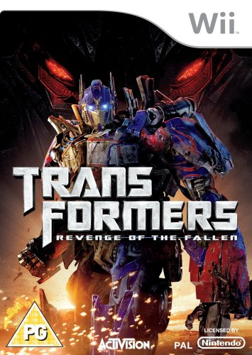 Transformers: Revenge Of The Fallen - The Game (nintendo Wii)
