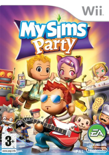 Mysims Party (nintendo Wii)