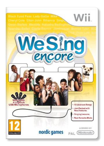 We Sing Encore (nintendo Wii)