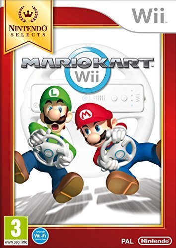 Nintendo Selects: Mario Kart Wii Only (nintendo Wii)