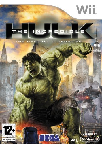 The Incredible Hulk (nintendo Wii)