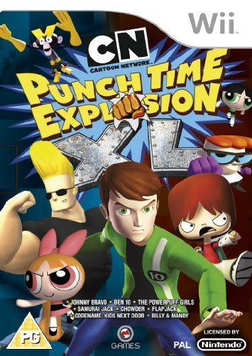 Cartoon Network Punch Time Explosion Xl (nintendo Wii)