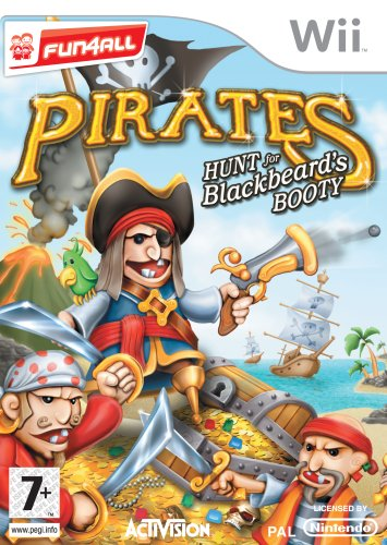 Pirates Hunt For Black Beard's Booty (nintendo Wii)
