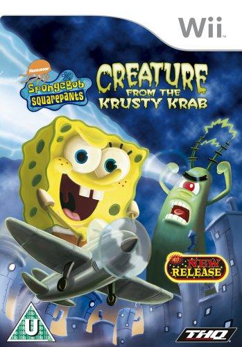 Spongebob Squarepants: Creature From The Krusty Krab (nintendo Wii)