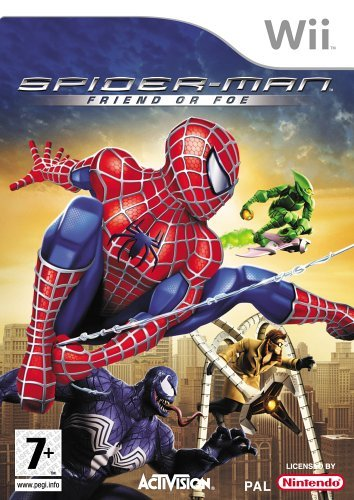 Spider-man: Friend Or Foe (nintendo Wii)