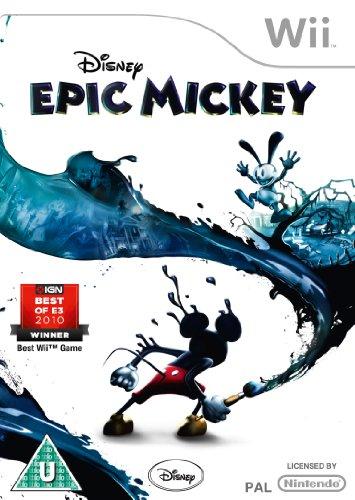 Disney Epic Mickey (nintendo Wii)