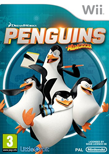 Penguins Of Madagascar (nintendo Wii)