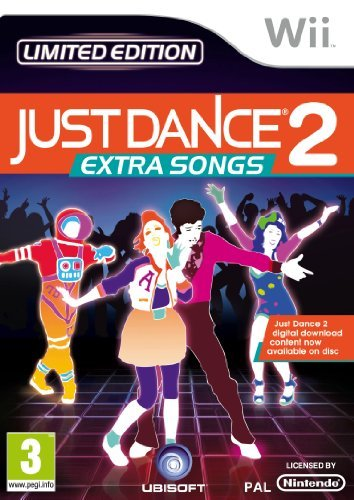 Just Dance 2 Extra Songs (nintendo Wii)