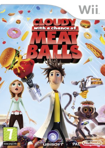 Cloudy With A Chance Of Meatballs (nintendo Wii)