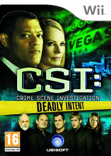 Csi: Crime Scene Investigation - Deadly Intent (nintendo Wii)