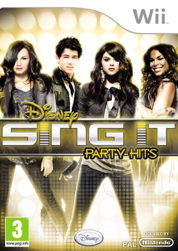 Disney Sing It : Party Hits (nintendo Wii)