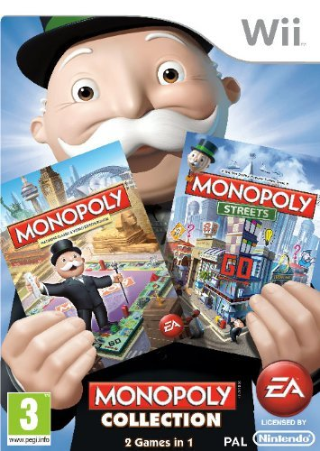 Monopoly Collection (nintendo Wii)