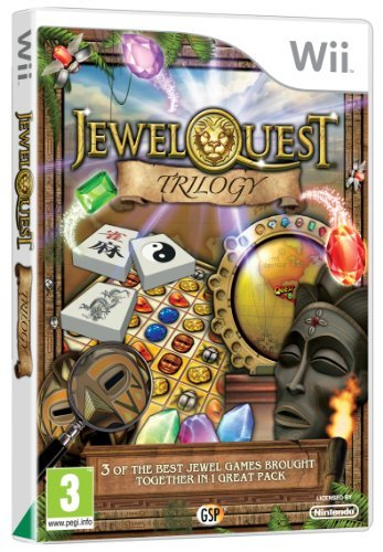 Jewel Quest Trilogy (nintendo Wii)