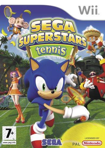 Sega Superstars Tennis (nintendo Wii)