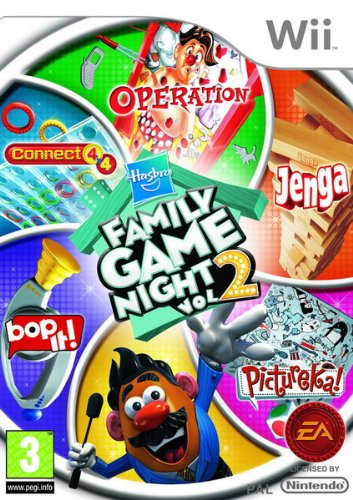 Hasbro Family Game Night: Volume 2 (nintendo Wii)