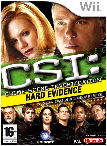 Csi: Crime Scene Investigation - Hard Evidence (nintendo Wii)