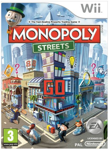 Monopoly Streets (nintendo Wii)