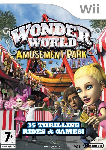 Wonder World Amusement Park (nintendo Wii)