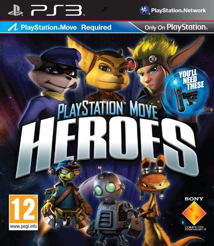 Playstation Move Heroes - Move Required (playstation 3)